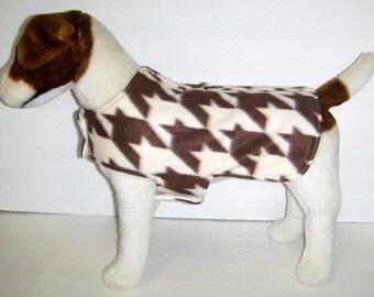 Houndstooth Dog Harness-Vest