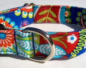 Gypsy Bandana Paisley Adjustable Dog Collar - Made to Order-