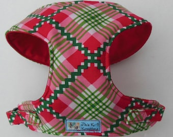 Comfort Soft Harness for Small Dog. Myrtle Berry. - Made to Order -