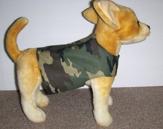 Camo Harness-Vest for Small Dog