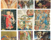 "Digital Collage Sheet - Clip Art Elements- Digital Scrapbooking -""Angels 2"""