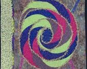 Handmade Art Quilt - SPIRAL