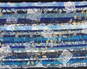 Handmade Art Quilt - PERU LIVES