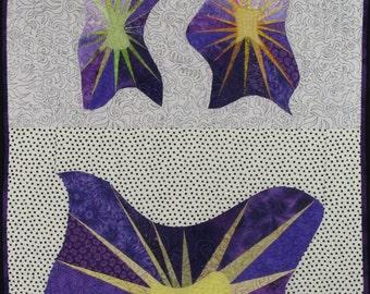 Handmade Art Quilt - STARS