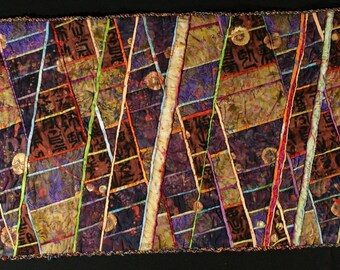 Handmade Art Quilt - CHINATOWN