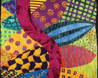 Handmade Art Quilt - DOODLE