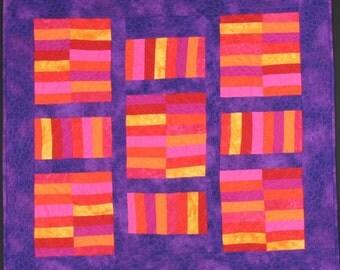 Handmade Art Quilt - AMISH INSPIRATION