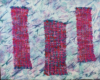 Handmade Art Quilt - WEAVING 3