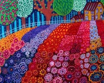 Landscape art Art Print Poster by Heather Galler (HG580)