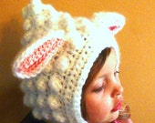 Mary's Little lamb hat pattern
