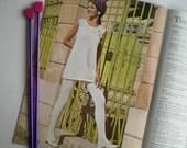Vintage Knit PDF Pattern 050 Pantyhose and Tunic from WonkyZebra