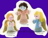 Christmas Angel Nativity PDF Pattern 264 from WonkyZebra