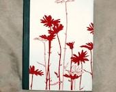 Red Wild Flowers Journal