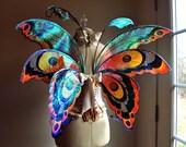 Fuller Color Fairy Wings Wedding Halloween Costume Faerie Reenactment Fantasy Renaissance Custom