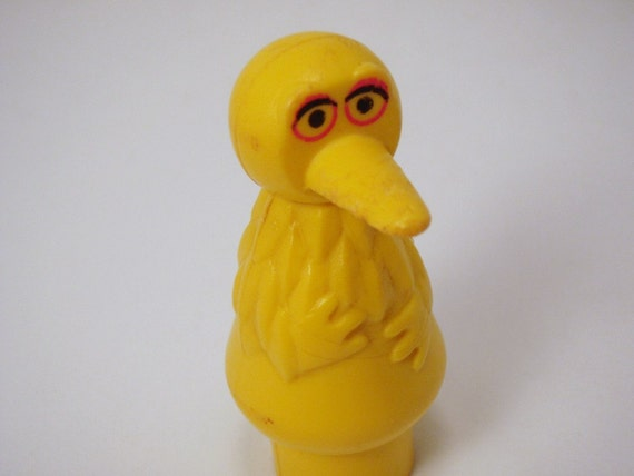 Fisher Price FP Little People Big Bird Sesame Street Figure