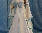 Medieval handfasting dress renaissance custom made