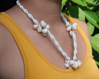 Beautiful Beaded and Seashell NECKLACE