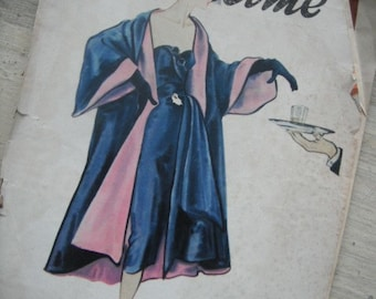 GORGEOUS- MADAME - MEXICAN SOCIAL  MAGAZINE SEPIA 1951 AND GREAT ADS