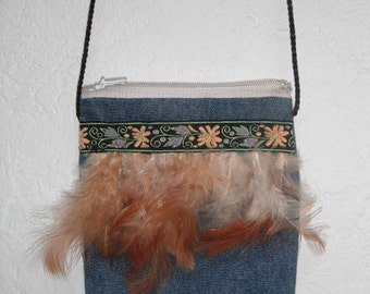 Fun Native Feather Purse