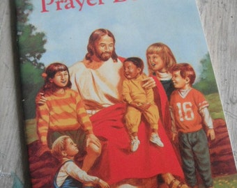 Vintage 1989 Children's Book  My First Prayer Book  for a Small Child