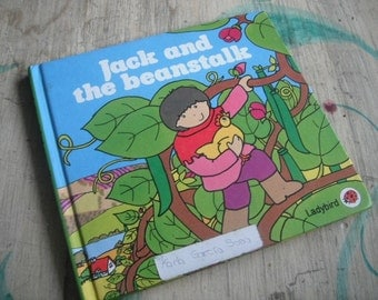 Jack and the Beanstalk Book Hardcover 1985 from England