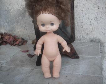Cutest Brunett Doll with blue eyes