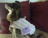 Li'l Gals Harness Vest - Cotton Candy Stripes (Medium)