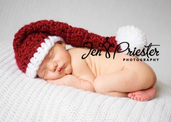 Santa Baby Stocking Hat
