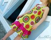 MALLORY  easy dress - pdf tutorial - ebook - 3M-12Y