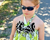 SKYLAH Easy Dress with Bow - pdf Tutorial - Ebook - 3M-12Y