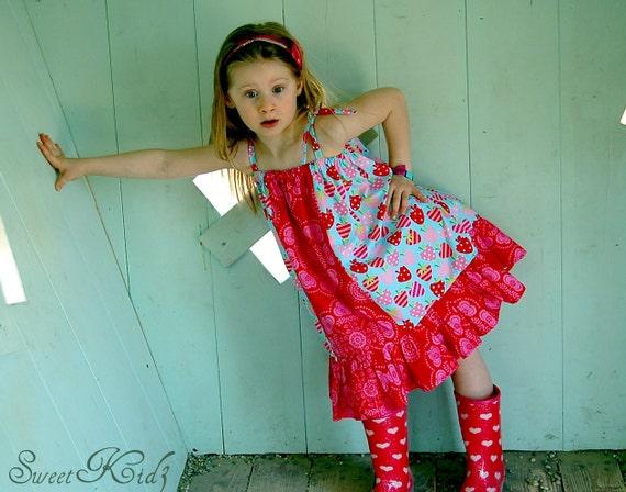 JAZZY  Easy Dress - PDF Tutorial - Ebook - 3M-12Y
