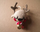 Amigurumi reindeer ornament : Odilon