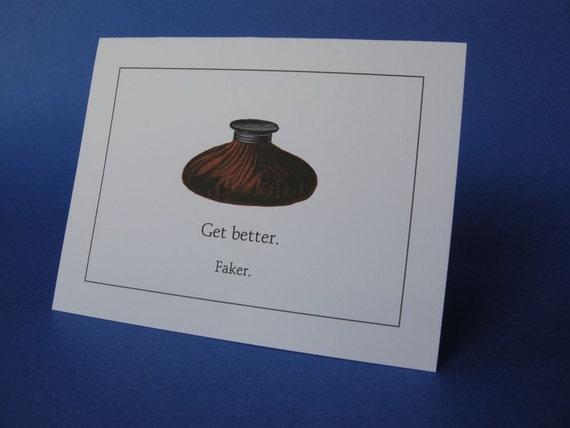 Get better.  Faker.
