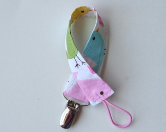 Universal Pacifier Clip - Little Birdie Spring