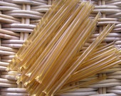 30 Honey Sticks - Golden Local Spring Harvest, All-Natural, Travel Size - DELICIOUS