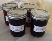 Four Pack of 8 ounce Jars