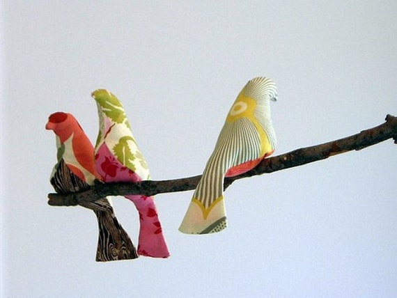 Gorgeous Handmade Bird Mobile