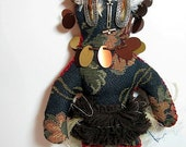 Witch Doctor Doll One of a Kind Handmade Wishing Doll