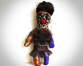 Voodoo Doll Seduction One of a Kind Handmade Wishing Doll