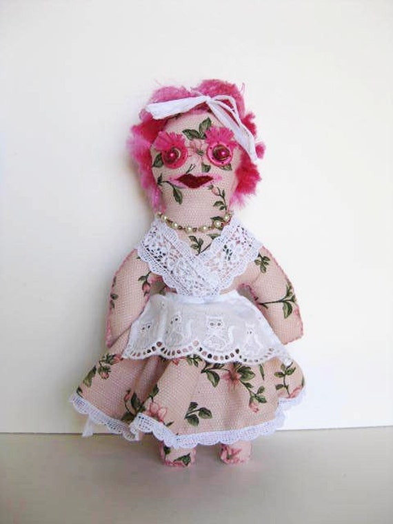 Earth Mother Juju Cookie Doll Handmade Kitchen Witch Wishing Doll
