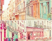 Candy Urban France  (Set of four 5x5 ) Fine Art Photographs