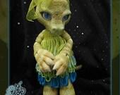 Crikey the Crocodile - ball joint doll BJD - Custom color