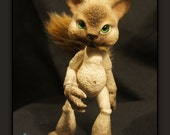 Meow the Cat - ball jointed doll / BJD - Custom Color