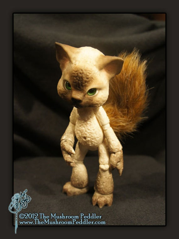 Meow the Cat - ball joint doll / BJD - Siamese