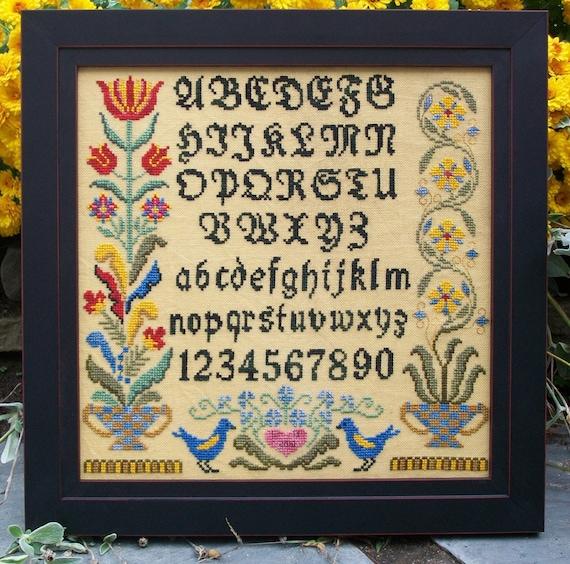 Fraktur Alphabet Sampler