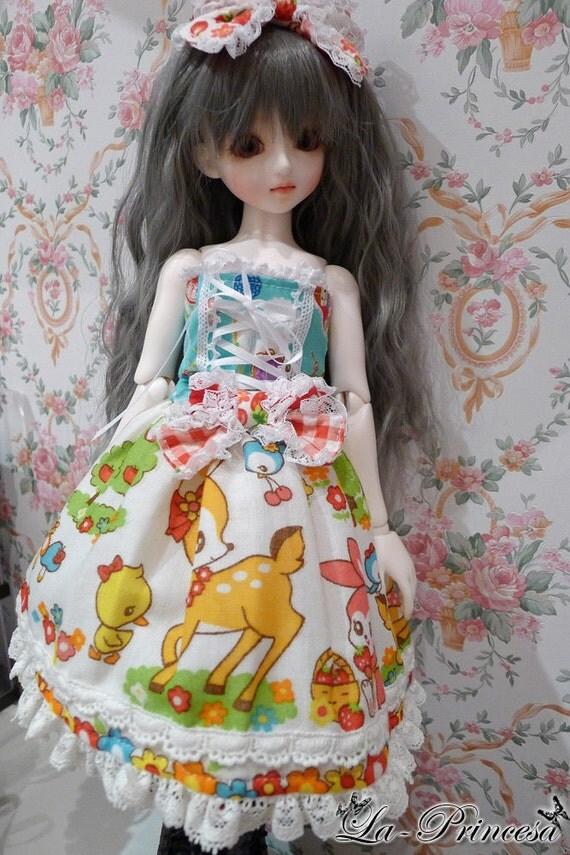 La-Princesa Lolita Outfit for MSD (No.BJD-037)