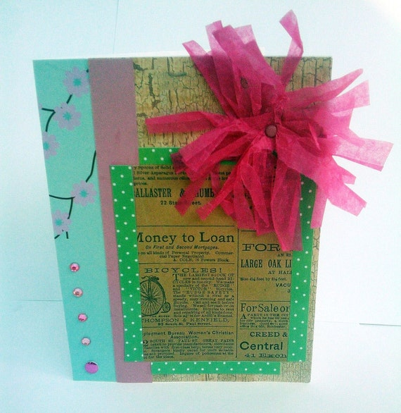 Birthday/All Occasion Card - Vintage Style Clipping