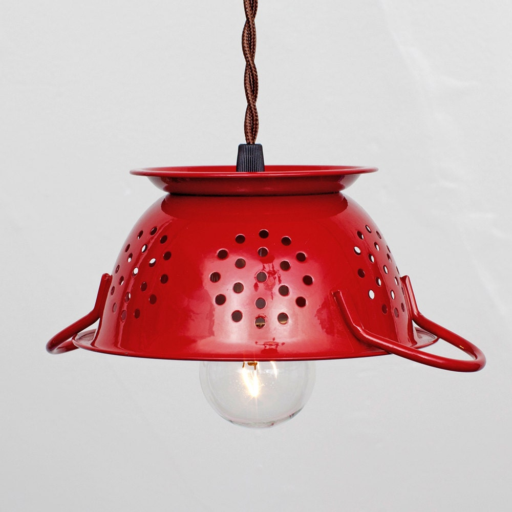 Red Kitchen Pendant Lights Red Pendant Light