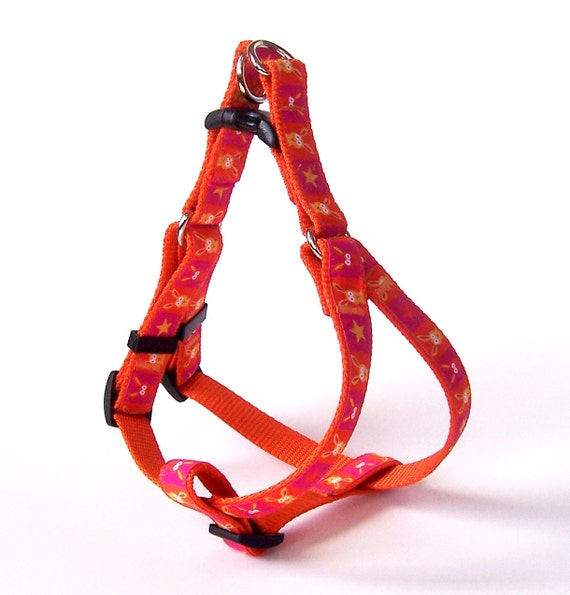 Step In Dog Harness, 5/8 inch or 3/4 inch Width