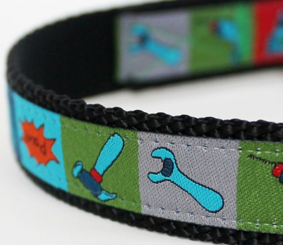 Tool Time Dog Collar / Adjustable Dog Collar